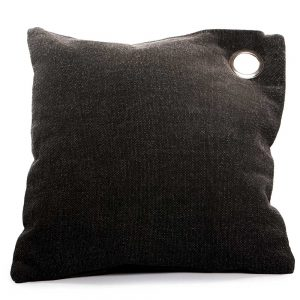 Cushion Beatriz Black Ring
