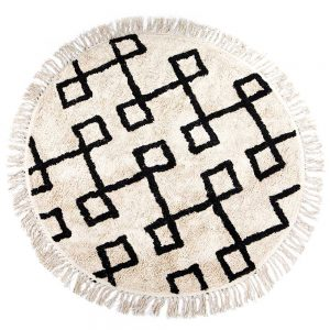 Alicia Round Rug Cream 120 diameter