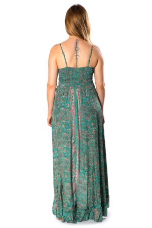 Beverly Silk Long Dress #5