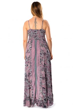 Beverly Silk Long Dress #4