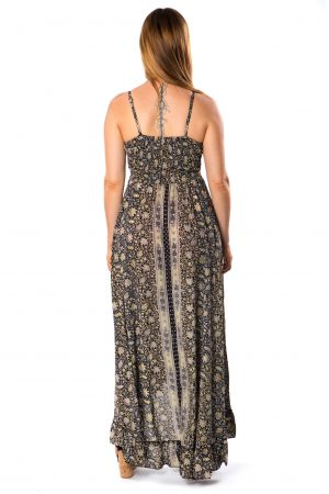 Beverly Silk Long Dress #2