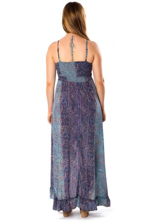Beverly Silk Long Dress #3