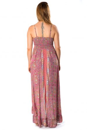 Beverly Silk Long Dress #8