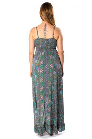 Beverly Silk Long Dress #7