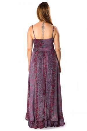 Beverly Silk Long Dress #6