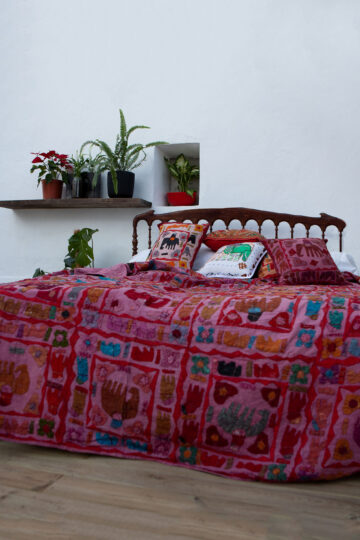 Bed Cover Elephants 190×230